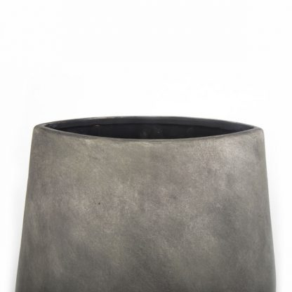 Vase Beton dark gray H43