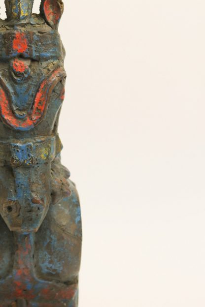 Antiker Pferedkopf multicolor