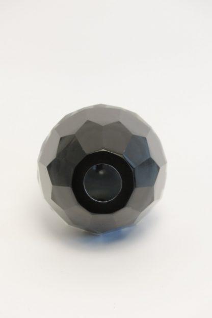 Kristallvase achatgrau