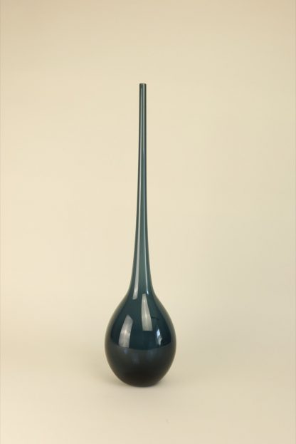 Mundgeblasene Vase Blau